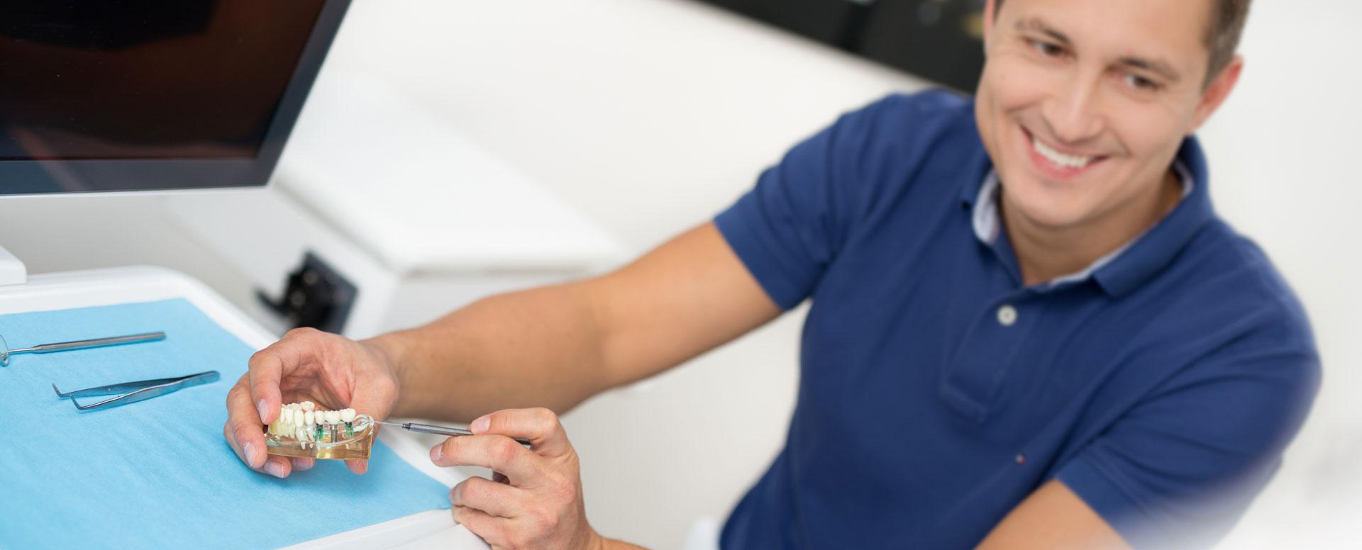 Dr. Enno Faridani Zahnarzt und Praxisinhaber